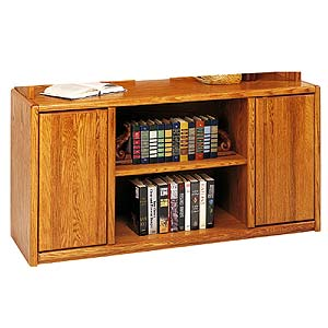 kathy ireland Home by Martin Contemporary  Storage Credenza with Adjustable Shelving