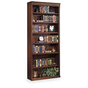 kathy ireland Home by Martin Huntington Oxford 7 Shelf Bookcase