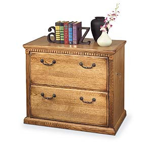 kathy ireland Home by Martin Huntington Oxford Two Drawer Lateral File Cabinet