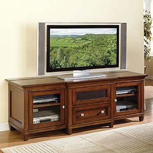 Bradley TV Console For Flat Panel Televisions by kathy ireland Home by Martin