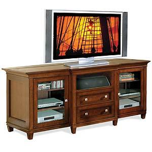 kathy ireland Home by Martin Bradley Tall Console For Flat Panel TV's