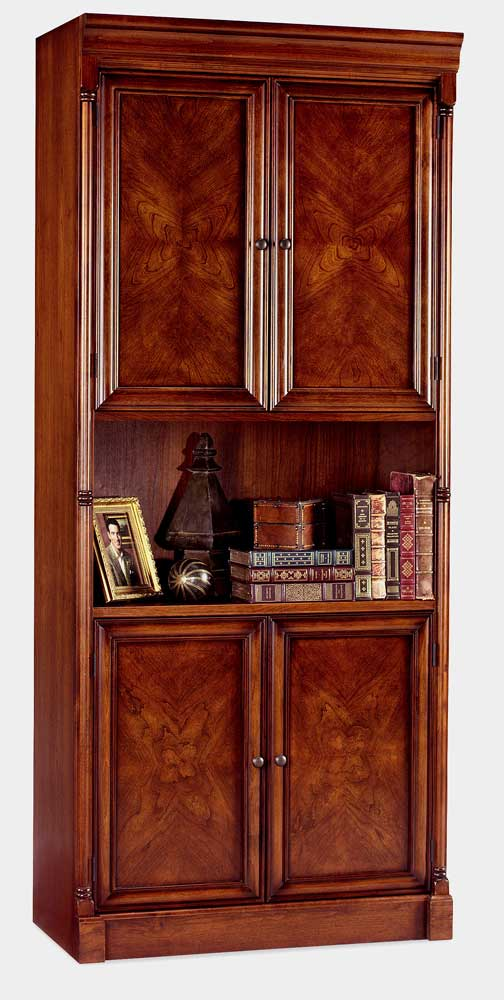 kathy ireland Home by Martin Mount View 4-Door Bookcase - Item Number: IMMV3479D