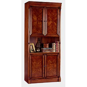 kathy ireland Home by Martin Mount View 4-Door Bookcase