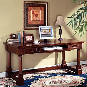 kathy ireland Home by Martin Mount View Writing Table