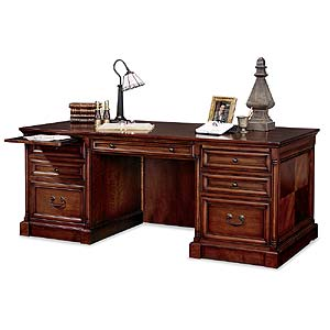 kathy ireland Home by Martin Mount View Double Pedestal Executive Desk