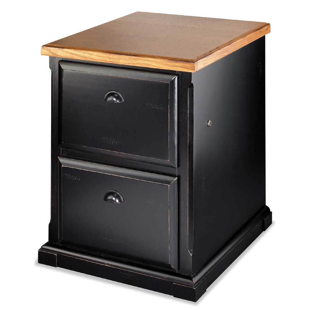kathy ireland Home by Martin Southampton Two Drawer File Cabinet - Item Number: IMSO201