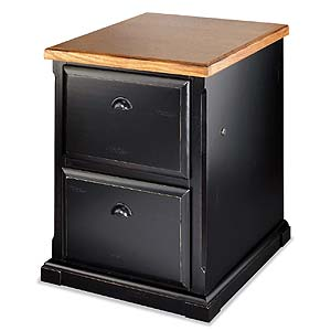 kathy ireland Home by Martin Southampton Two Drawer File Cabinet