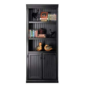kathy ireland Home by Martin Southampton Bookcase with Lower Doors