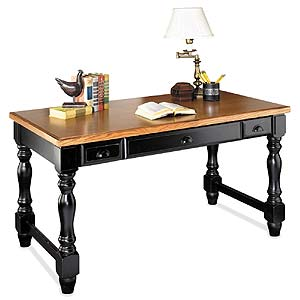 kathy ireland Home by Martin Southampton Writing Table Desk