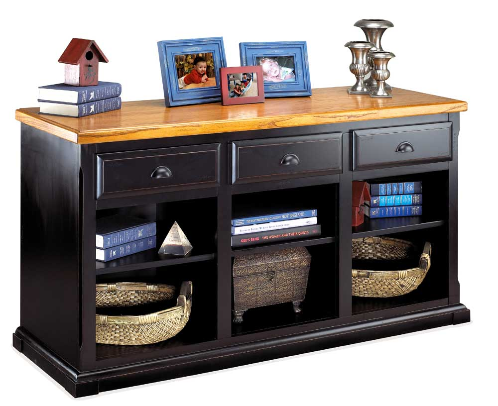 kathy ireland Home by Martin Southampton 3-Drawer Console - Item Number: IMSO573
