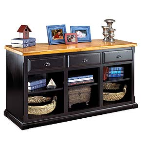 kathy ireland Home by Martin Southampton 3-Drawer Console