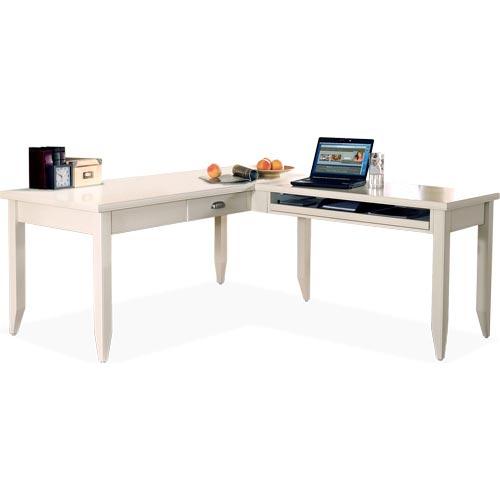 L-Shaped Writing Desk & Return