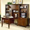 kathy ireland Home by Martin Tribeca Loft L-Shaped Wall Desk - Item Number: TLC304+2x10+12+84+450