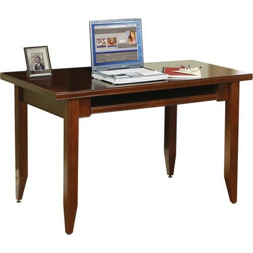 kathy ireland Home by Martin Tribeca Loft Table Desk with Keyboard Pull-Out - Item Number: TLC490