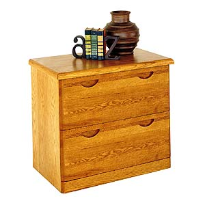 kathy ireland Home by Martin Waterfall Two Drawer Lateral File Cabinet