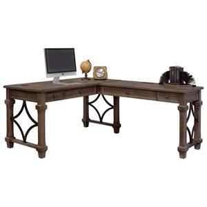 Open L-Shaped Desk