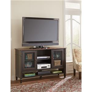 Martin Home Furnishings Eclectic Home Entertainment & Storage Deluxe TV Console