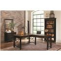 Martin Home Furnishings Hartford L Desk With Right Return - Item Number: IMHFK1