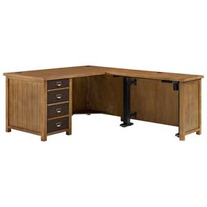 Martin Home Furnishings Heritage L-Shaped Desk