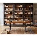Martin Toulouse 5 Shelf Bookcase with French Influences