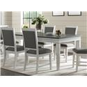 Martin Svensson Home Del Mar Two-Tone Dining Table - Item Number: 400352023