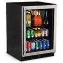 "Marvel Industries Beverage Centers - Marvel 24"" Beverage Center, Right Hinge - Item Number: ML24BCG0RS"