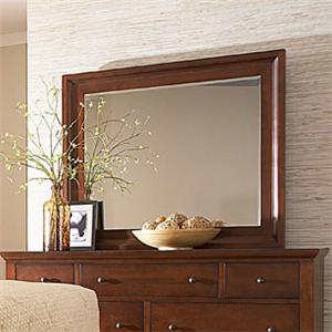 Manhattan Transitional Large Landscape Mirror by MasterCraft