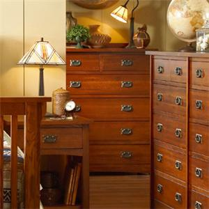 Prairie Mission Mission-Style 6 Drawer Chest by MasterCraft