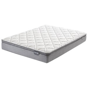 Belfort Mattress Casselbury Euro Top King Euro Top Innerspring Mattress