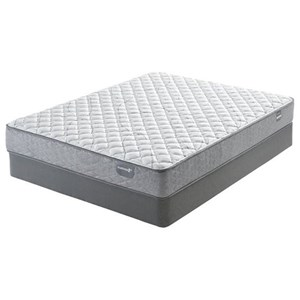 "Belfort Mattress Casselbury Firm Queen 9 3/4"" Firm Innerspring Mattress Set"