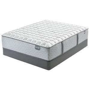 """Mattress 1st Gel 1st Hybrid Cushion Firm Queen 14 3/4"""" Cushion Firm Hybrid Matt Set"""