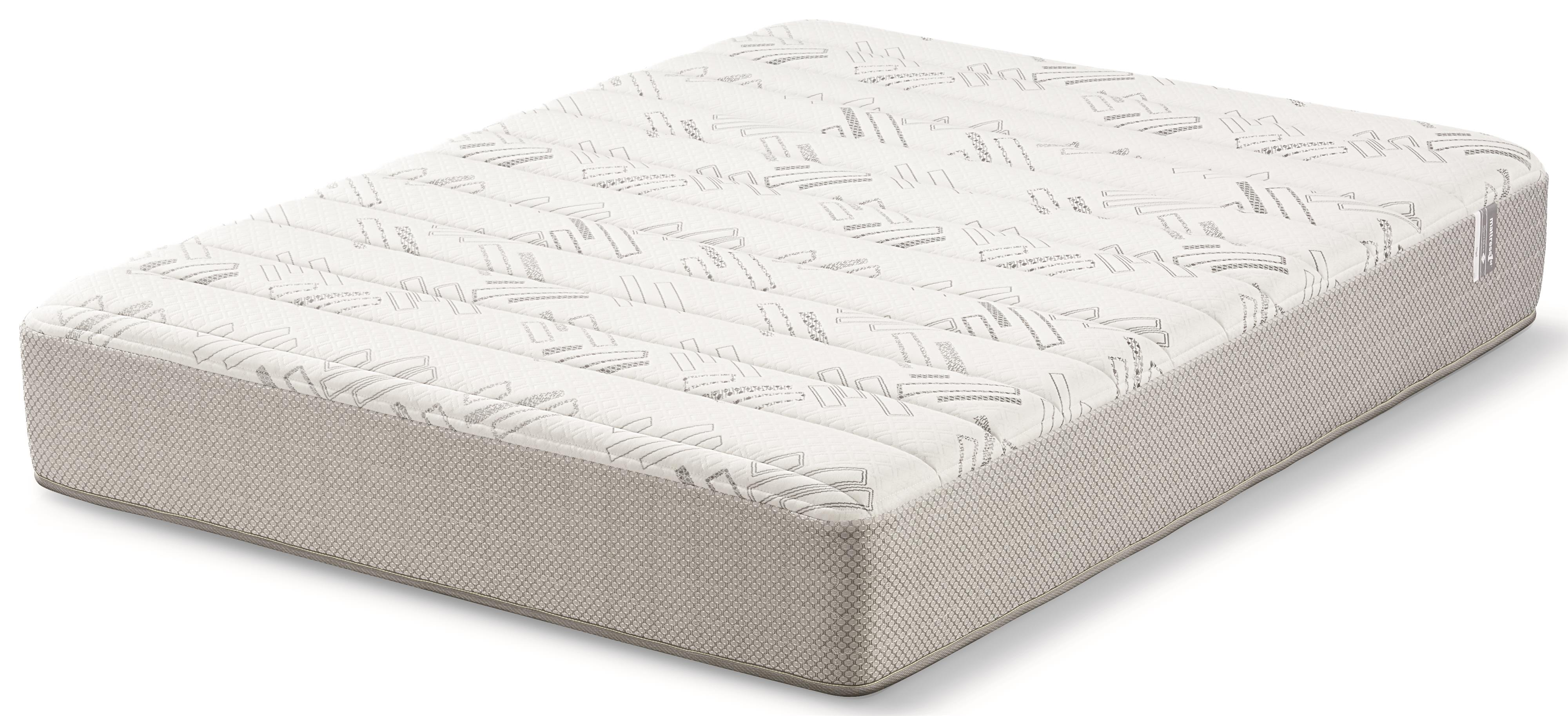 Mattress 1st Nigel Queen Plush Memory Foam Mattress - Item Number: 500955742-Q