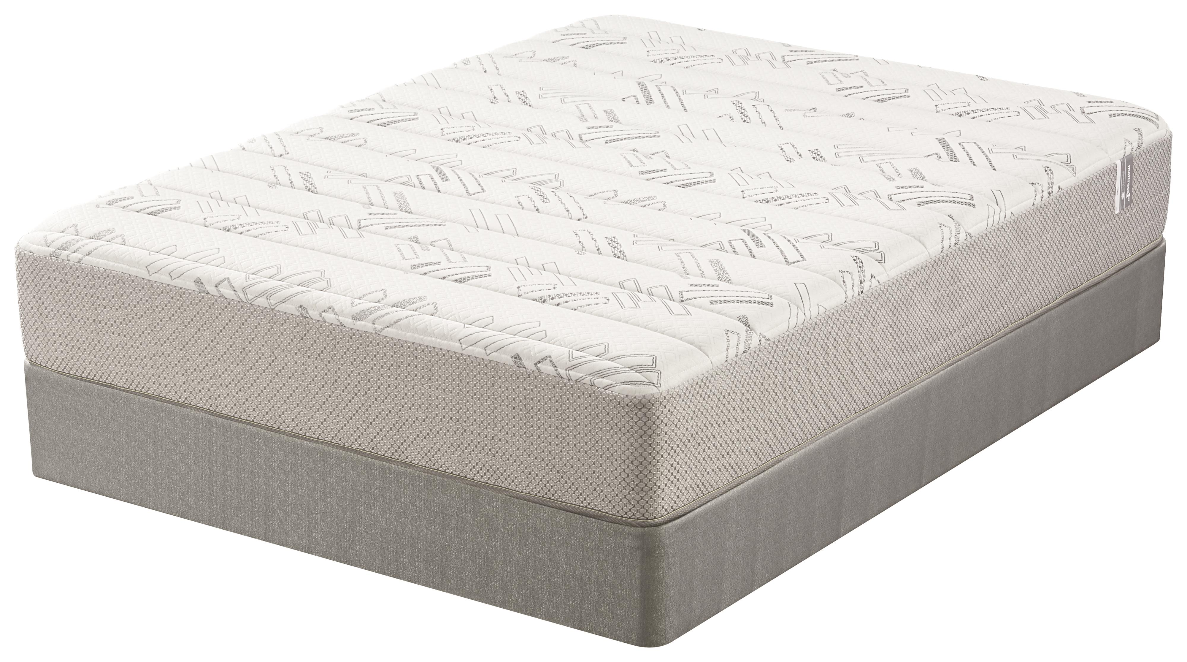 Mattress 1st Nigel Queen Plush Memory Foam Mattress Set - Item Number: 500955742-Q+500963299Q