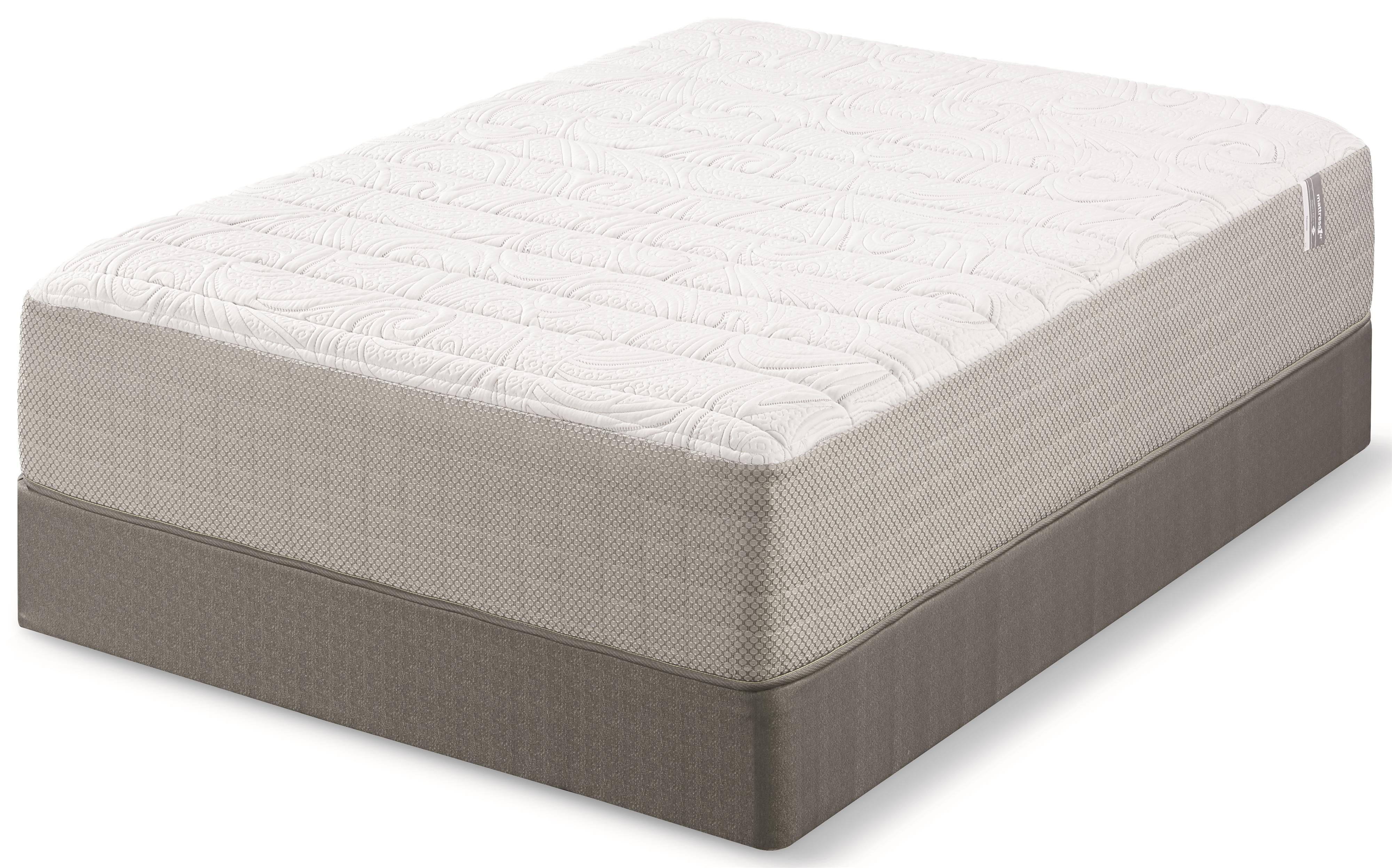 Mattress 1st Norcross Full Plush Memory Foam Mattress Set - Item Number: 500951132-F+500963299F