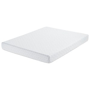 "Belfort Mattress Norburn Plush Full 7"" Gel Memory Foam Mattress"