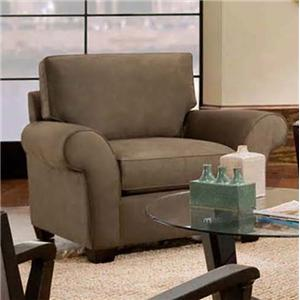 Max Home 9AA5 Contemporary Upholstered Chair