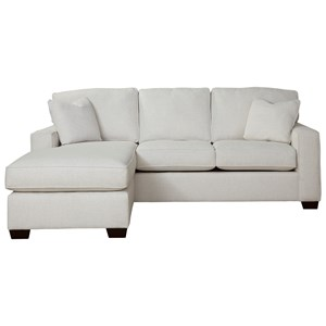 Bermuda Queen-Sized Sofa Sleeper with Memory Foam Mattress and Removable Chaise by Max Home