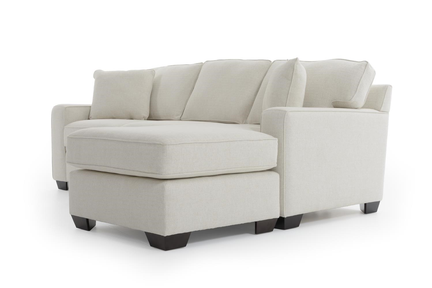 Max home bermuda 9jh6 a bk 9jh6 a xc cream king sized sofa - Apartment size sofa with chaise ...