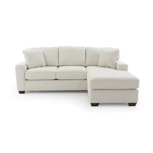 Max Home Bermuda Sofa with Removable Chaise