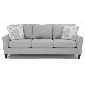 Transitional 3-Seater Sofa