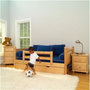 Maxtrix Yeah Natural Daybed with Trundle