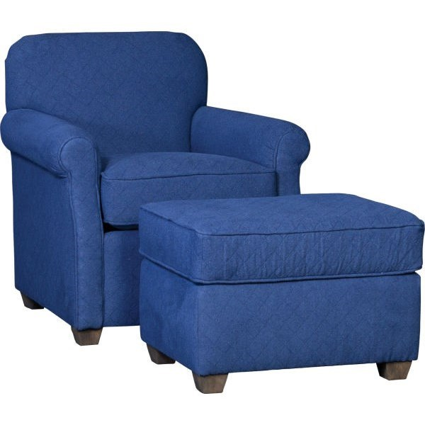1313 Chair and Ottoman by Mayo at Wilson's Furniture