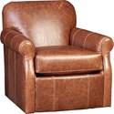 Mayo 1313 Swivel Chair - Item Number: 1313L42-Vacchetta Walnut