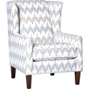 Mayo 1421 Chair - Item Number: 1421F40-Smyle Flax