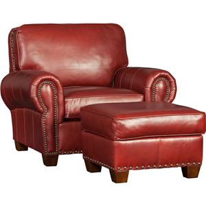 Mayo 176 Traditional Chair and Ottoman Set