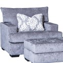 Mayo 2100 Chair - Item Number: 2100F40-Martin Charcoal