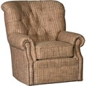 Mayo 2220 Swivel Chair - Item Number: 2220F42-Grasscloth Acorn