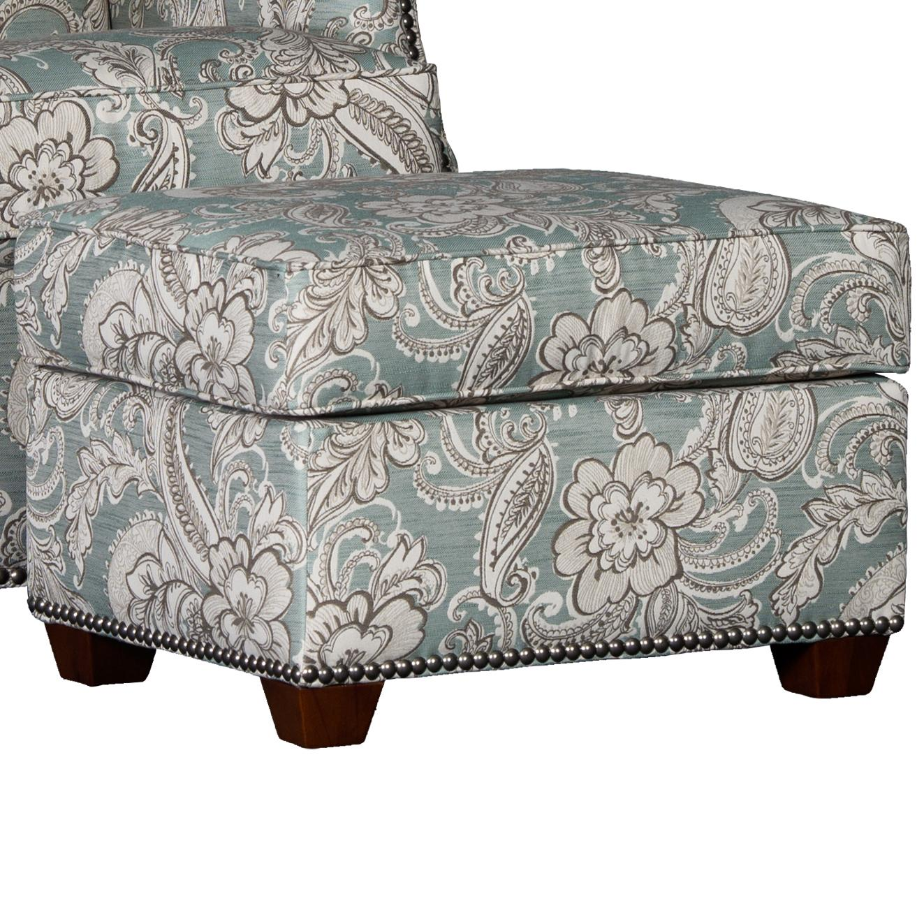 2325 Ottoman by Mayo at Wilcox Furniture