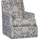 Mayo 2325 Swivel Glider - Item Number: 2325F43-AZZEGR