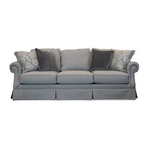 Mayo 2600 Smoke Skirted Sofa